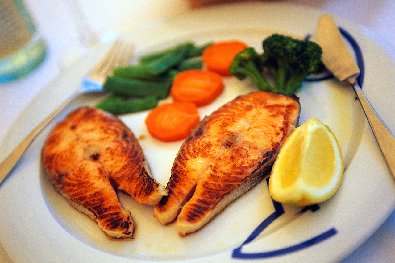 Download this Fish Healthy Food... picture