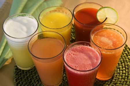healthy fresh fruit juice recipes healthy fruit and vegetable