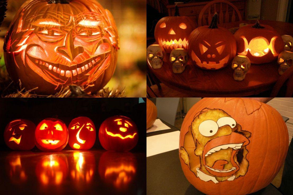 Cartoon Pumpkins Images. Our Local School Held A Pumpkin ...