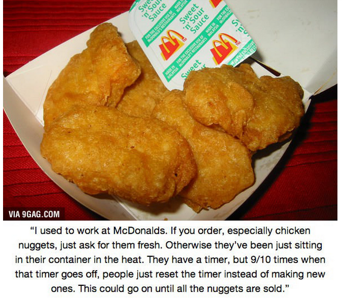 Fast Food Employees Confess What Menu Items You Should