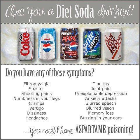 Know The Symptoms of Aspartame Poisoning