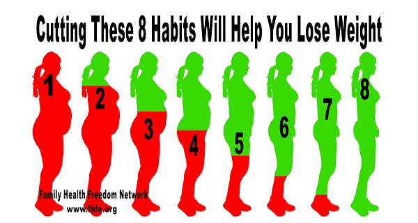 Cutting These 8 Habits Will Help You Lose Weight