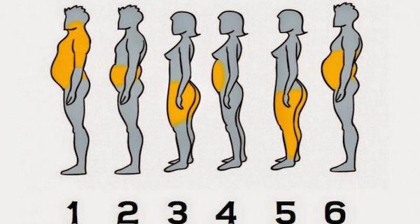 Резултат слика за See Where Your Body Accumulates The Most Fat And How To Get Rid Of It