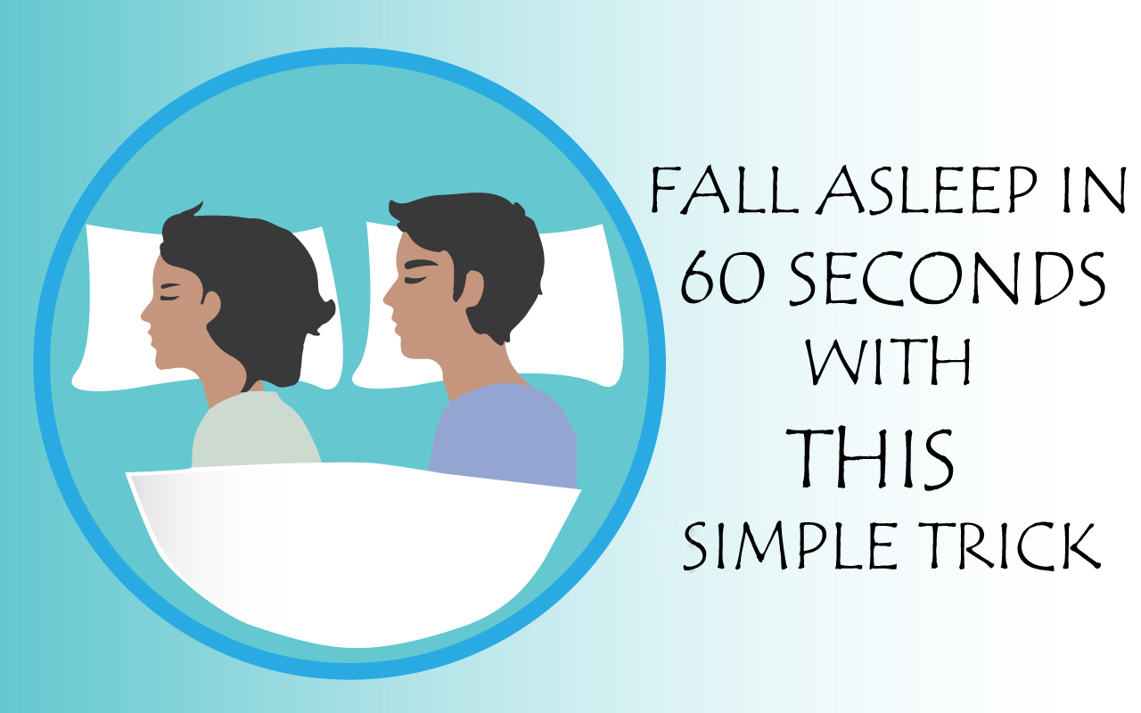 Fall Asleep In 60 Seconds With This Simple Trick! How To Fall Asleep  2016031414579728965571814womancantsleepg