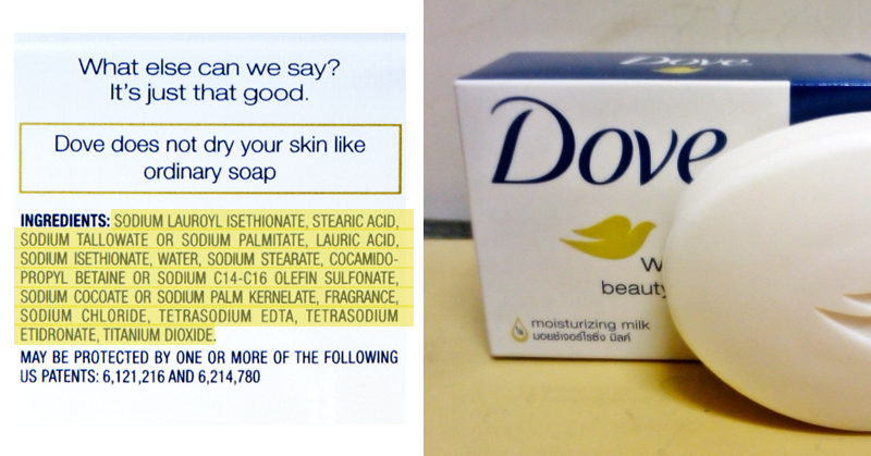 Dove's 'Real' Beauty Products Are Filled With Cancer-Causing Chemicals, Fake Dyes And Toxic Fragrance