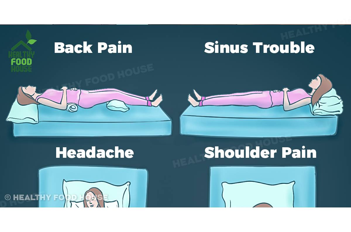 What Is The Right Position To Sleep For Each Of These