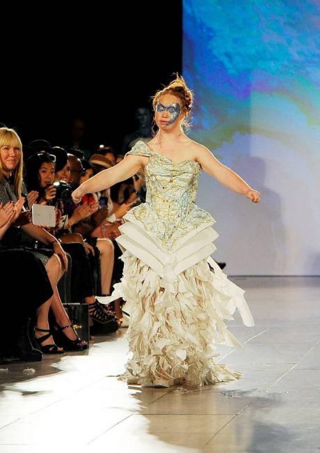 First Model With Down Syndrome To Walk Runway In New York Fashion Week Is Changing Perceptions – Video