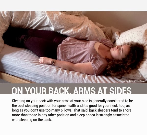 8 Sleeping Positions And How They Affect Your Health