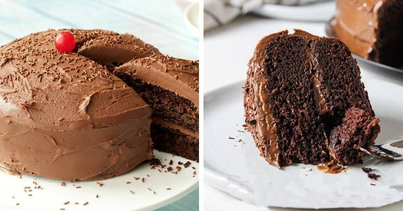 Gluten free chocolate cake with coconut oil chocolate frosting and gluten free chocolate cake with coconut oil chocolate frosting and doesnt lead to bloating sciox Gallery