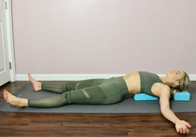 These 9 Relaxing Poses Relieve Pain In Your Back And